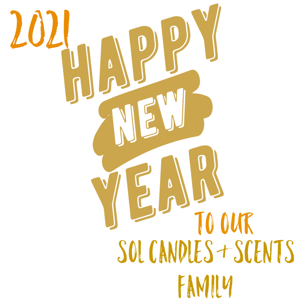 Happy New Year to our Sol Candles & Scents Family
